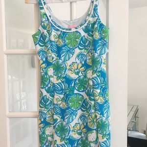 Lilly Pulitzer fitted stretchy dress